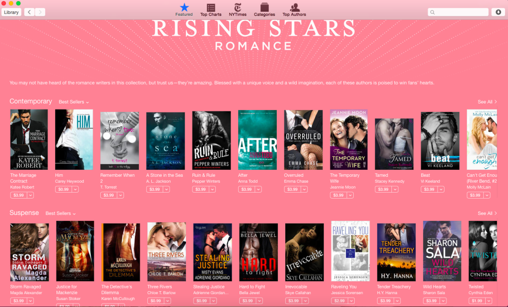 Rising Star iBooks